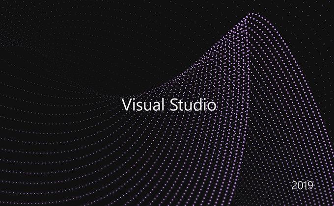 Visual Studio 2019 スプラッシュ