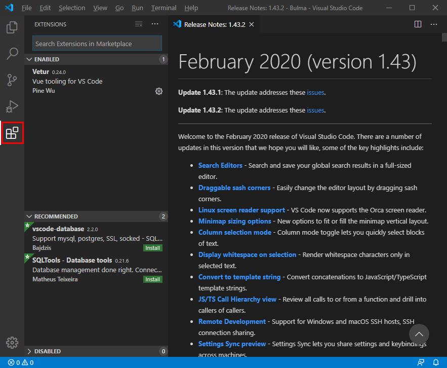 Visual Studio Code 日本語化 拡張機能