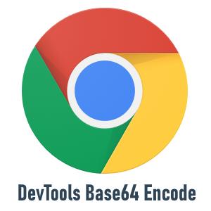 Chrome DevTools Base64エンコード