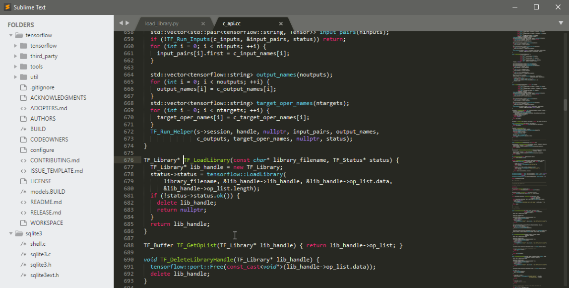 Sublime Text ソースコードサンプルデモ