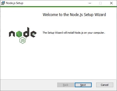 Node.js セットアップ開始