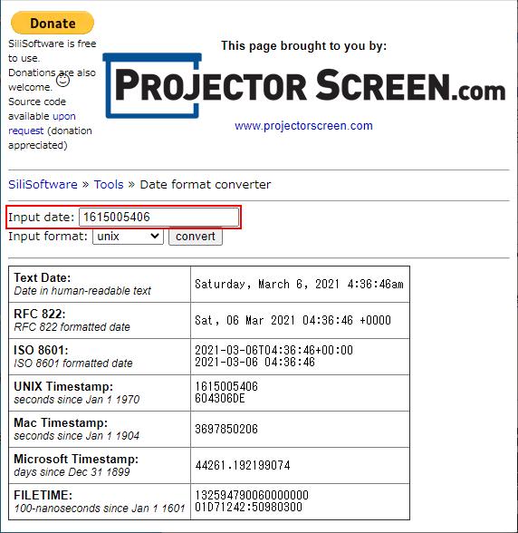 SiliSoftware Date format converter 日付数値入力