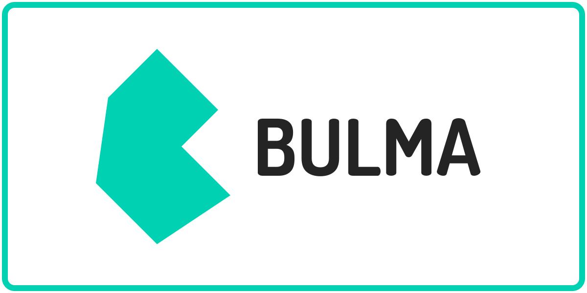 Bulma ロゴ トップ バナー